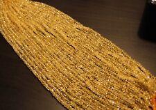edelsteine24  Citrin Edelstein Strang Linsen fac. 4,5mm, schöne Farbe! Cit-b6