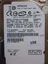 120 gb Hitachi hts541612j9sa00/0a28843/da1982/jul-07/220 0a52018 01 #198