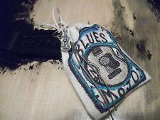 Guitar - Blues - Parts - Project - Gift - Art -Mojo Hand -Hoodoo Good Luck Charm