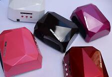 36W Nail CCFL LED Lamp Diamond UV Gel Curing Dryer! ~~USA SHIPPING!~~