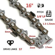 Replacement Chainsaw 16inch /40cm 57 Link Saw Chain Fit For Qualcast GCS400 PC40