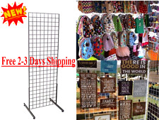 Tall Grid Unit Merchandise Display Clothing Boutique Rack Market Retail Shelving