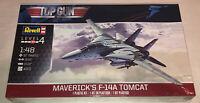 Revell Top Gun Maverick's F-14A Tomcat aircraft 1:48 scale model kit new 5872