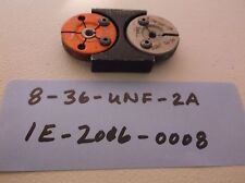 8-36-UNF-2A THREAD RING GAGE MACHINIST INSPECTION TOOLING LATHE