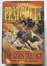 Terry Pratchett - Discworld Omnibus - The Gods Trilogy - Hardback Book