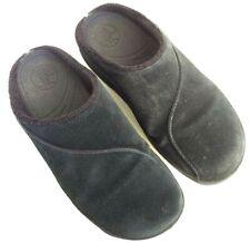 FitFlop Gogh Clog Women's Size 9 Black Suede Slip On Mule Sandals Slide Shoes