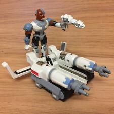 "DC Bandai Teen Titans Go Battling Machine Cyborg Blendride 3.5"" Figure & Vehicle"