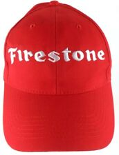 Firestone Tires Red Snapback Adjustable Cap Hat