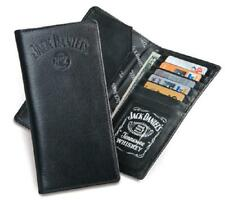 Jack Daniels Signature Collection Rodeo / Roper Style Wallet -Black