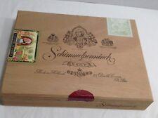Schimmelpenninck V.S.O.P. all Wooden Cigar Box from Holland