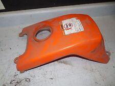 yamaha breeze 125 orange fuel gas tank shroud cover 92 93 1992 1993