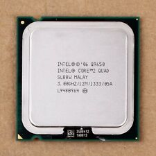 100% Working For Intel Core 2 Quad Q9650 SLB8W 3.0GHz 12MB 1333MHz Socket 775