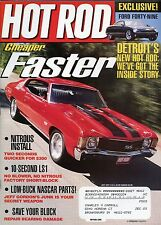 Hot Rod Magazine July 2001 Ford Forty Nine / Nitrous  Install Two Seconds Quick