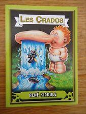 Image * Les CRADOS 3 N°152 * 2004 album card Sticker FRANCE Garbage Pail Kid