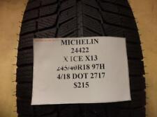 2 MICHELIN X-ICE XI3 245 40 18 97H BRAND NEW WINTER TIRES 24422 Q8
