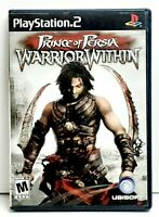 Prince of Persia: Warrior Within (Sony PlayStation 2 PS2, 2004) - Complete .