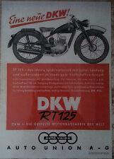 AFFICHE-POSTER DKW rt125 Publicité 1940 WEHRMACHT Serrure ww2 wk2 DECO Bike