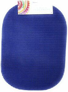 4X Waffle Weave Poly Vinyl Placemats 5 colors Non-Slip 13 x 18 Rounded Corners