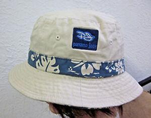 PANAMA JACK kids tropical hat Throwback kids safari roll-up bucket cap Sun Tan