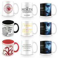 Game Of Thrones Mug Mother Of Dragons Winter Is Coming Jon Snow Hodor Official