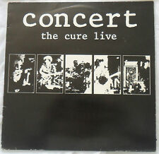 The Cure 1984 LP Concert The Cure Live FIXH10