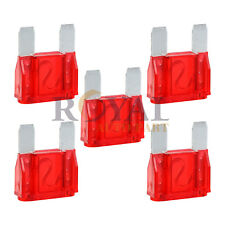 5 Pack of 50 Amp 50A Large Blade Style Audio Maxi Fuse for Car Boat Auto 12v