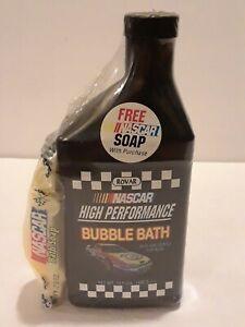 New Sealed Nascar High Performance 15 oz Bubble Bath with Soap Car