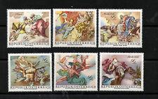 (Ref-3520) Austria 1968 Baroque Frescoes SG1537/42  Mint (MNH)