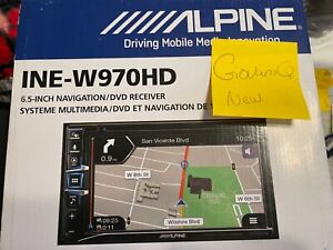 Alpine INE-W970HD  w/Navigation,carplay,android auto