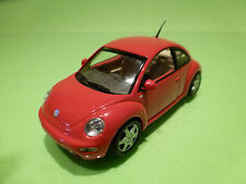 MINICHAMPS 1:43  - VOLKSWAGEN VW NEW BEETLE 1998 - EXCELLENT CONDITION