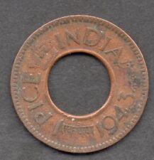 India (British) Pice 1943 coin