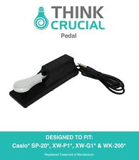 Replacement CTK-2080 CTK-2100 CTK-2200 CTK-2300 CTK-3000 Casio Sustain Pedal