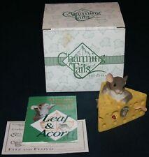 "Fitz & Floyd Charming Tails ""Say Cheese"" W/Box 89/167"
