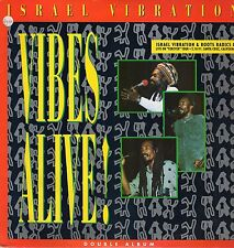 """ VIBES ALIVE! "" israel vibration. REAL AUTHENTIC SOUND U.S orig DOUBLE L.P.1992"