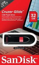 SanDisk® Cruzer Glide™ 32GB USB Flash Drive High Speed Memory Stick Genuine