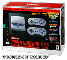 Nintendo SNES/NES Classic Mini Console Boxed Acrylic Display Case