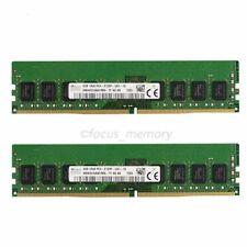 Hynix 8GB 2x4GB PC4-2133P 2133Mhz PC4-17000 1RX8 DDR4 288Pin Dimm Memory Module