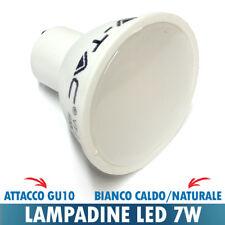 LAMPADINA FARETTO LED 7W VTAC ATTACCO GU10 110 GRADI SATINATO