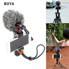 BOYA BY-MM1 3.5mm Shotgun Type Microphone for Smart Phones,Cameras,Camcorders,PC
