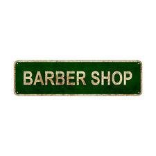 Barber Shop Decor Wall Shop Man Cave Bar Street Rustic Vintage Retro Metal Sign