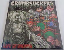 NB18CrumbsuckersLife of DreamsULTRA CLEAR/BLACK/WHITE SPLATTER LP ! SEALED