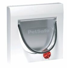 Pet Door Locking Flap Cat Dog Safe Window Way Out Entrance Exit Lid Accessory