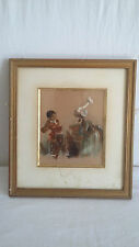 Edouard Charles DE BEAUMONT (1812-1888) - Aquarelle / Encre sur papier