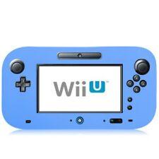 Nintendo Wii u Gamepad Silicone Case Flexible Matte Protective Case Cover Blue