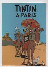 Carte Postale Les Portraits de Tintin n°14. Tintin à Paris - 2016