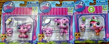 3 NEW LPS Baby Pig, Poodle & Bird Littlest Pet Shop Mommy and  Bobble In Style