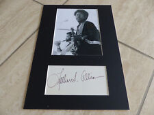 LUTHER ALLISON signed autograph 8x12 inch matted InPerson in Berlin LOOK
