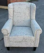 Wood & Fabric 100% Cotton Chairs