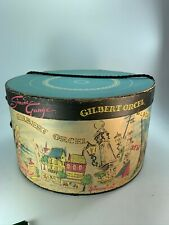 Vintage Ladies Hat Box Simone Gauge Gilbert Orcel Europe 32048 Paulette Fath