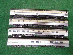 Walthers Proto Ho Passenger cars(4), B&O